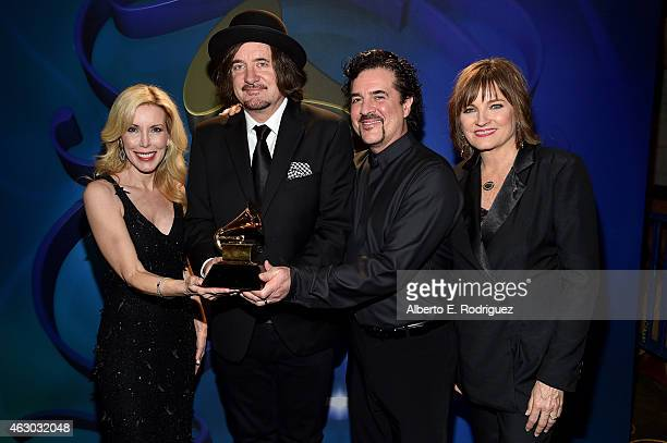 Winners for Best Country Song Kim Campbell composer Julian Raymond Big Machine Records Founder Scott Borchetta and Chair of the National Board of...