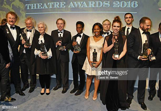 Winners including Owen Teale Damien Molony Sean Mathias John Malkovich Glenn Close Lord Andrew Lloyd Webber Tyrone Huntley Charlene James Gareth Fry...