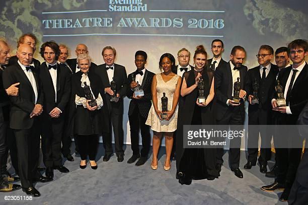 Winners including Sir Ian McKellen Sir Patrick Stewart Owen Teale Damien Molony Sean Mathias John Malkovich Glenn Close Lord Andrew Lloyd Webber...