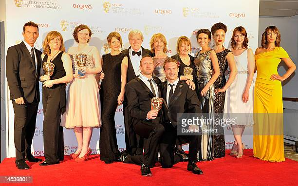 Winners of Best Soap and Continuing Drama for 'Coronation Street' Debbie Oates Louise Sutton Paula Lane Bill Roache Helen Worth Noreen Kershaw...