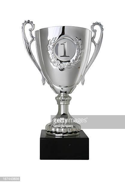 Gagnants Trophée avec un Tracé de détourage