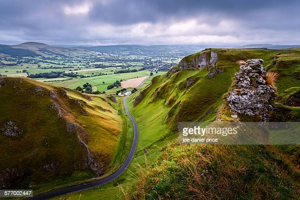 Winnets Pass, Castleton, Derbyshire, Peak District