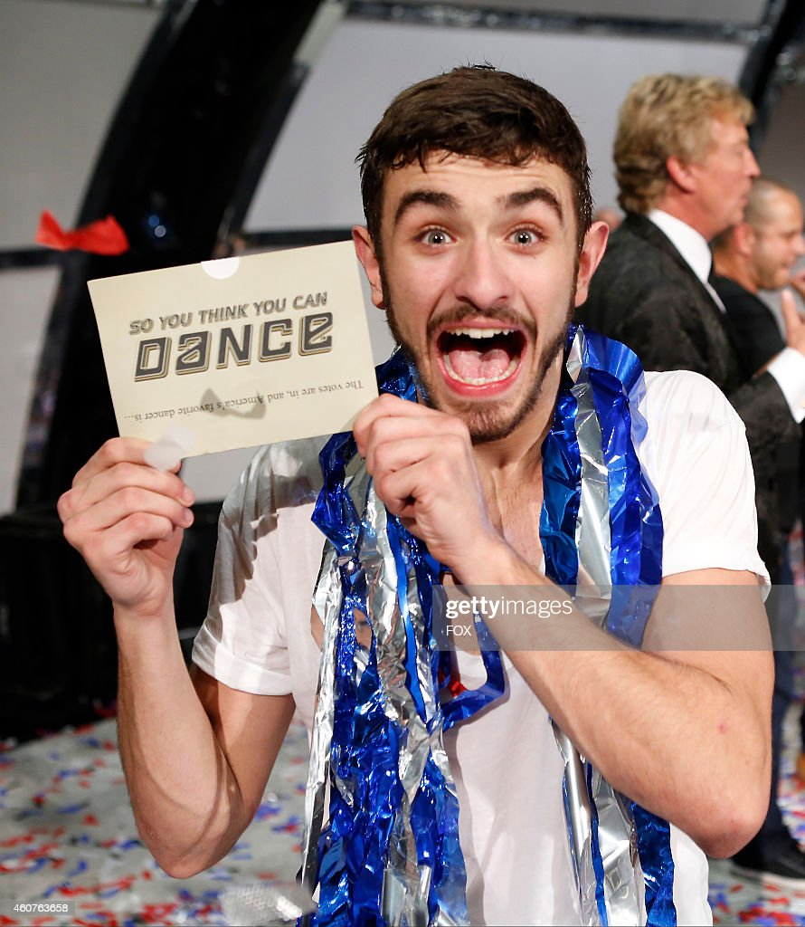 Winning contestant Ricky Ubeda on SO YOU THINK YOU CAN DANCE airing Wednesday September 3 2014 on FOX