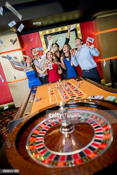 Roulette table stock photos and pictures getty images for How to win money at fish tables