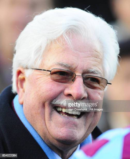 Winning owner Jim Lewis after his Breedsbreeze won The Anglo Irish Bank Tolworth Hurdle at Sandown Park Racecourse Surrey