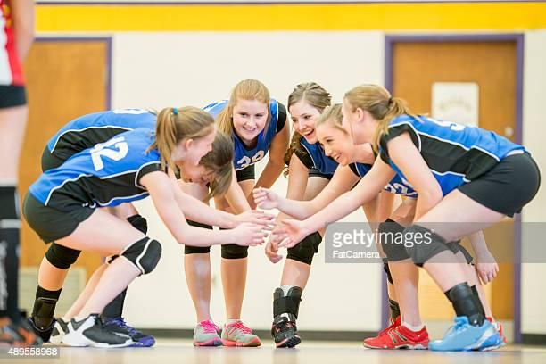 Winning Team Huddle