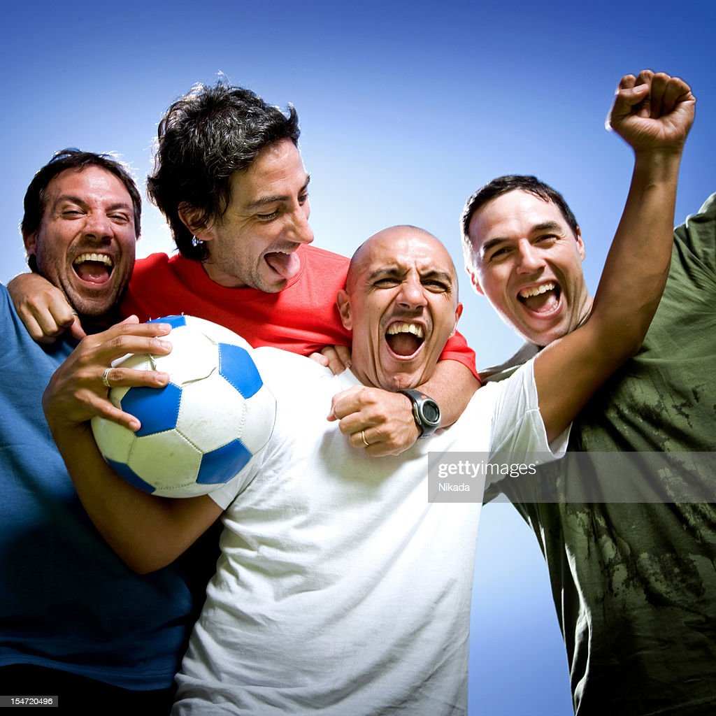 Winning Team : Stock Photo