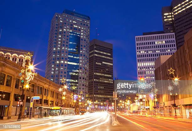 Winnipeg luces de Navidad