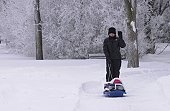 Winnipeg Manitoba, Canada Winter Scenes