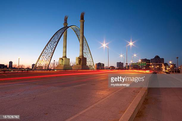 Winnipeg norwood bridge