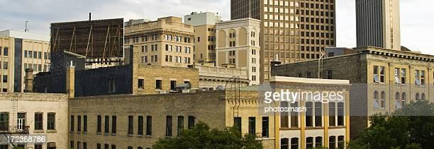 Winnipeg Panorama Downtown.
