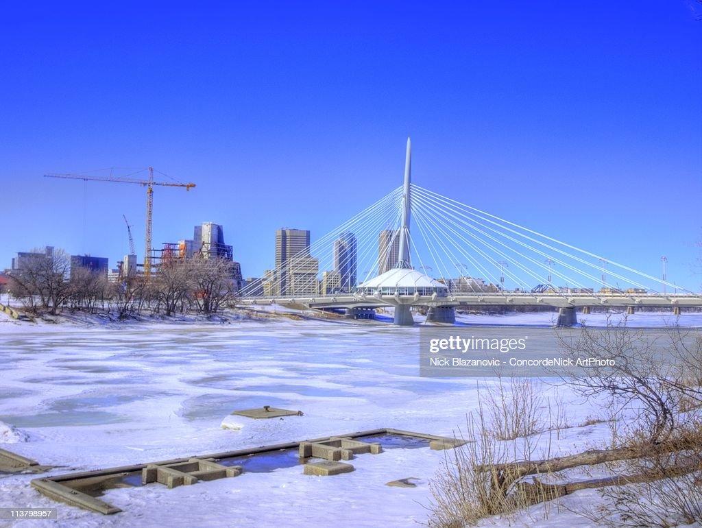 Winnipeg Skyline HDR
