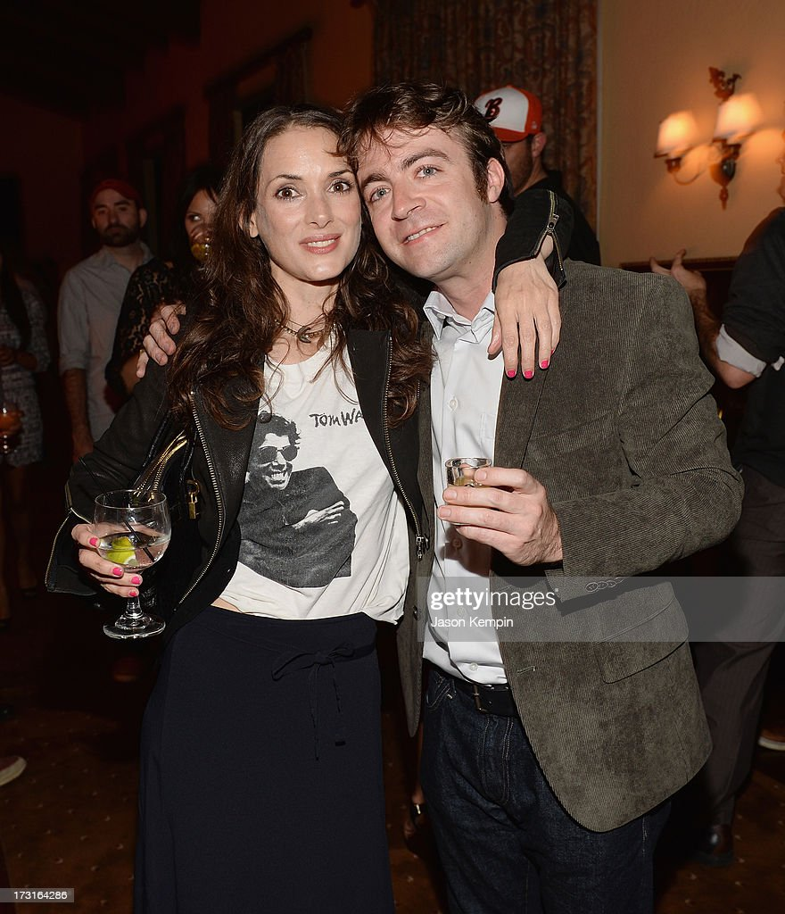 <a gi-track='captionPersonalityLinkClicked' href=/galleries/search?phrase=Winona+Ryder&family=editorial&specificpeople=203145 ng-click='$event.stopPropagation()'>Winona Ryder</a> and Derek Waters attend Comedy Central's 'Drunk History' Premiere Party at The Wilshire Ebell Theatre on July 8, 2013 in Los Angeles, California.