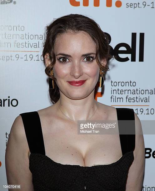 Winona Ryder arrives at the 'Black Swan' premiere during the 2010 Toronto International Film Festival held at Roy Thompson Hall on September 13 2010...