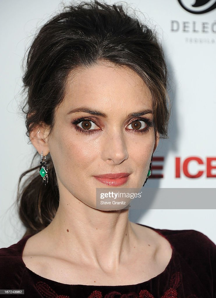 Winona Ryder arrives at the 'The Iceman' Los Angeles Premiere on April 22 2013 in Hollywood California