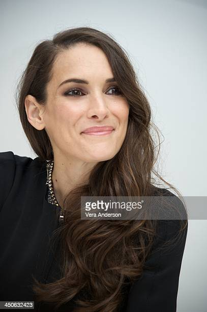 Winona Ryder at the 'Homefront' Press Conference at the Four Seasons Hotel on November 17 2013 in Beverly Hills City