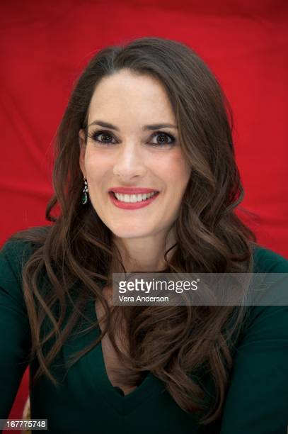 Winona Ryder at 'The Iceman' Press Conference at The Waldorf Astoria Hotel on April 27 2013 in New York City