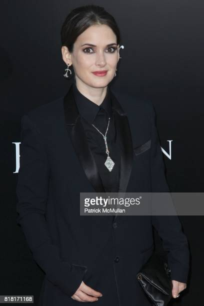 Winona Ryder attends FOX SEARCHLIGHT PICTURES Presents the New York Premiere of BLACK SWAN at The Ziegfeld Theatre on November 30 2010 in New York...