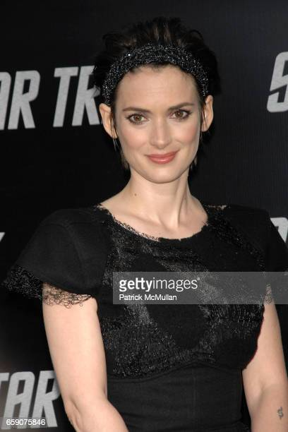 Winona Ryder attends 'Star Trek' Premiere at Grauman's Chinese Theatre on April 30 2009 in Los Angeles CA