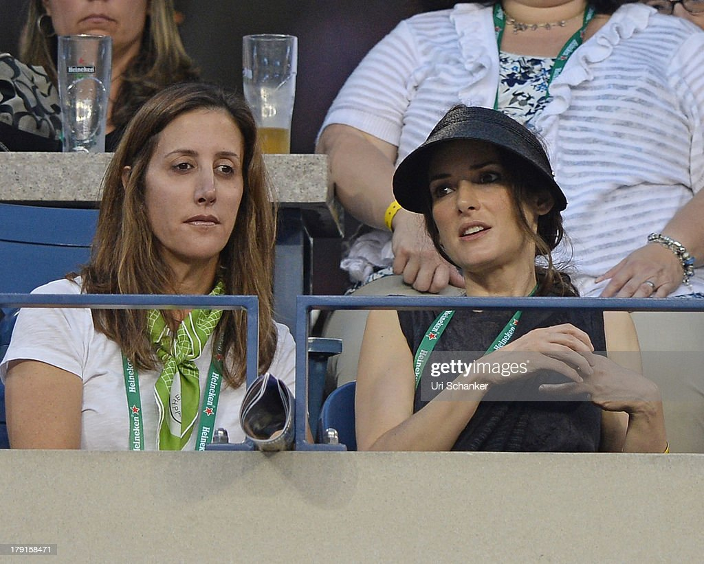 <a gi-track='captionPersonalityLinkClicked' href=/galleries/search?phrase=Winona+Ryder&family=editorial&specificpeople=203145 ng-click='$event.stopPropagation()'>Winona Ryder</a> attends the 2013 US Open at USTA Billie Jean King National Tennis Center on August 31, 2013 in New York City.