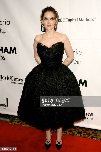 Winona Ryder attends The 20th Annual GOTHAM Independent Film Awards at Cipriani's Wall St on November 29 2010 in New York City