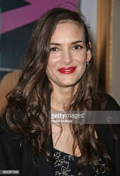 Winona Ryder attends the Broadway opening night performance of 'This Is Our Youth' at Cort Theatre on September 11 2014 in New York City