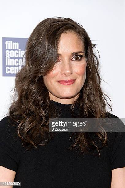Winona Ryder attends the 'Experimenter' premiere during the 53rd New York Film Festival at Alice Tully Hall on October 6 2015 in New York City