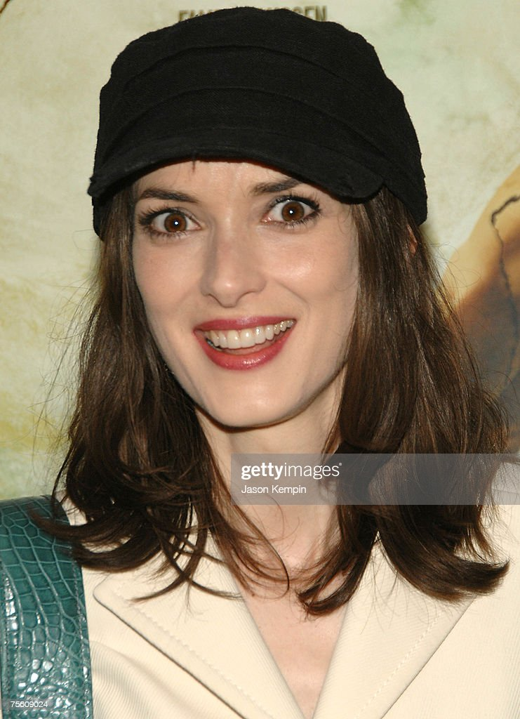 Winona Ryder attends the premiere of 'The Ten' at DGA Theater in New York City on Junly 23, 2007.