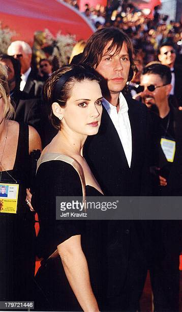 Winona Ryder during 2000 Oscar Awards ceremony at Shrine Auditorium in Los Angeles California United States