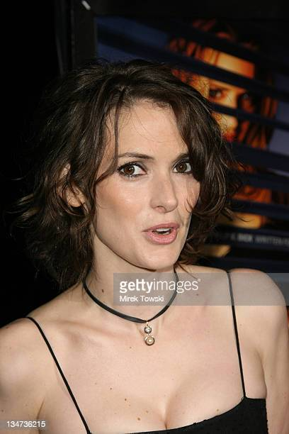 Winona Ryder during Film Independent Los Angeles Film Festival 'A Scanner Darkly' Premiere at John Anson Ford Amphitheatre in Hollywood CA United...