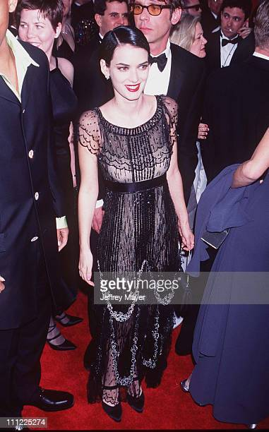 Winona Ryder during The 69th Annual Academy Awards Arrivals at Shrine Auditorium in Los Angeles California United States