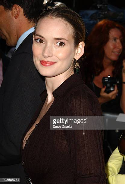 Winona Ryder during 'The Manchurian Candidate' Los Angeles Premiere at The Academy in Beverly Hills California United States