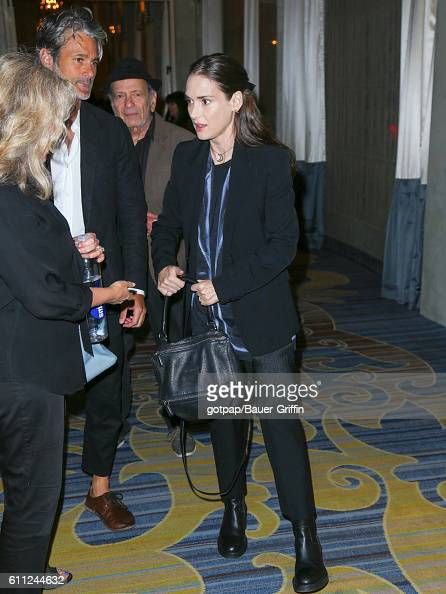 Winona Ryder is seen on September 28 2016 in Los Angeles California