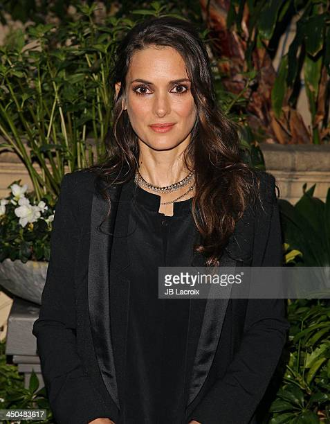 Winona Ryder poses during the 'Homefront' Los Angeles press conference held at Four Seasons Hotel Los Angeles at Beverly Hills on November 18 2013 in...