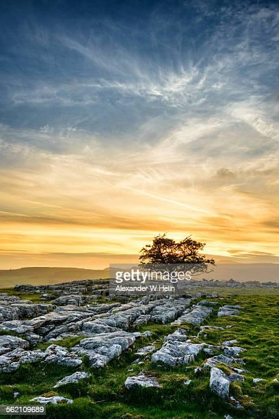 Winskill stones sunset