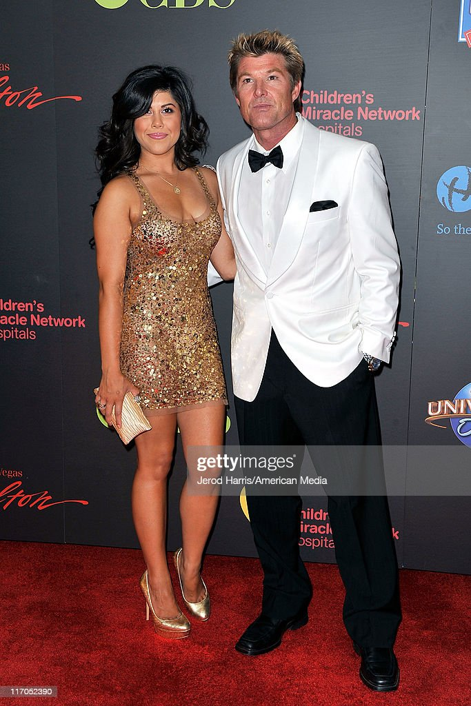 <a gi-track='captionPersonalityLinkClicked' href=/galleries/search?phrase=Winsor+Harmon&family=editorial&specificpeople=235353 ng-click='$event.stopPropagation()'>Winsor Harmon</a> and guest arrive at 38th Annual Daytime Entertainment Emmy Awards For Soap Opera Weekly on June 19, 2011 in Las Vegas, Nevada.