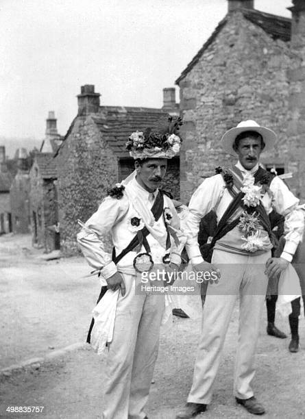 Winster Morris Dancers Winster Wakes Derbyshire 4 July 1908 Photograph taken during one of British musicologist Cecil Sharp's expeditions to collect...
