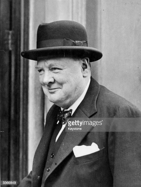 Winston Churchill British Statesman and Prime Minister