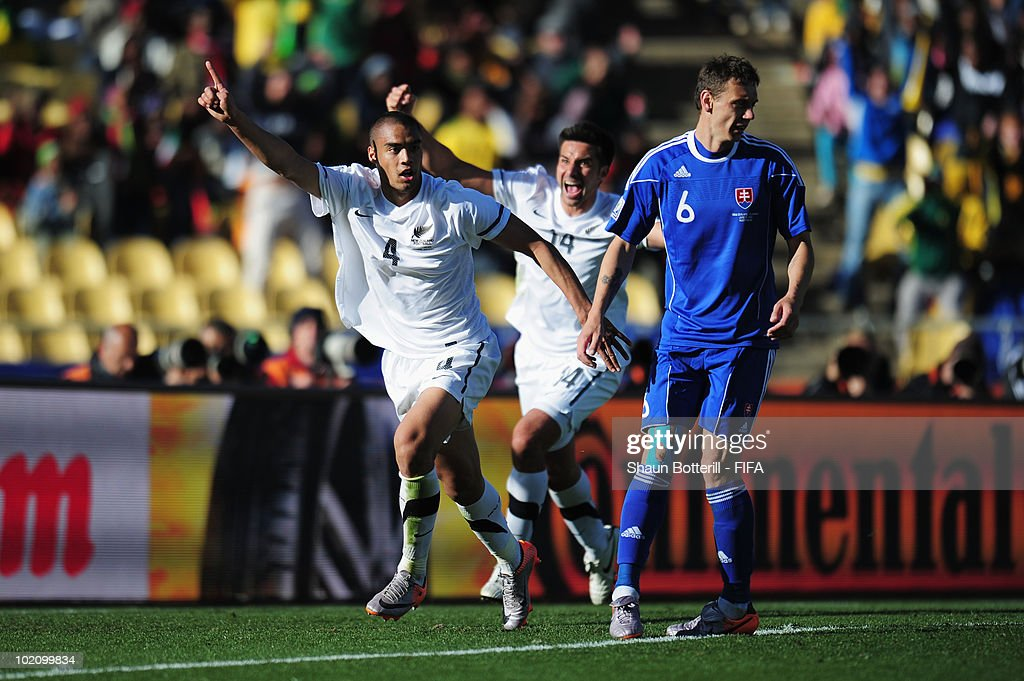 New Zealand v Slovakia: Group F - 2010 FIFA World Cup