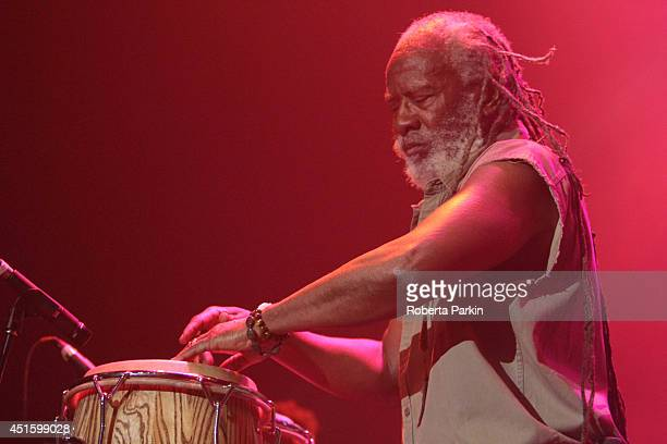 Winston Rodney performs during the 2014 Festival International de Jazz de Montreal on July 1 2014 in Montreal Canada
