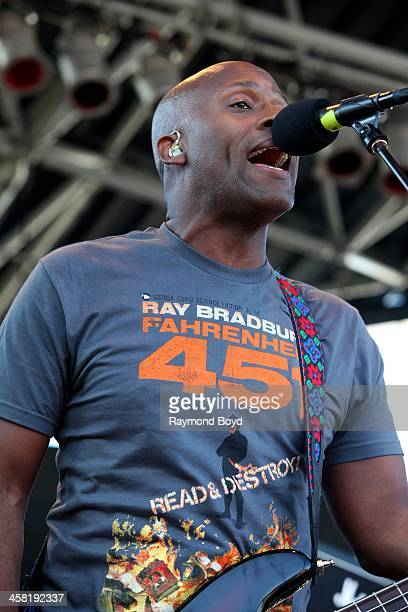 Winston Roye from Soul Asylum performs on the US Cellular Connection Stage at the Henry W Maier Festival Park during the HarleyDavidson 110th...