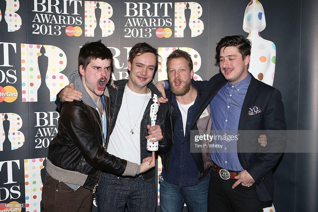 Brit Awards 2013 - Press Room