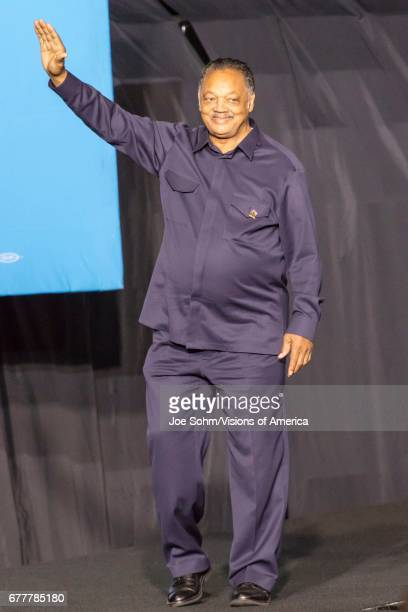 WinstonSalem NC October 27 Civil Rights Legend Jessie Jackson Appears At A Hillary Clinton And Michelle Obama Presidential Campaign Event In North...
