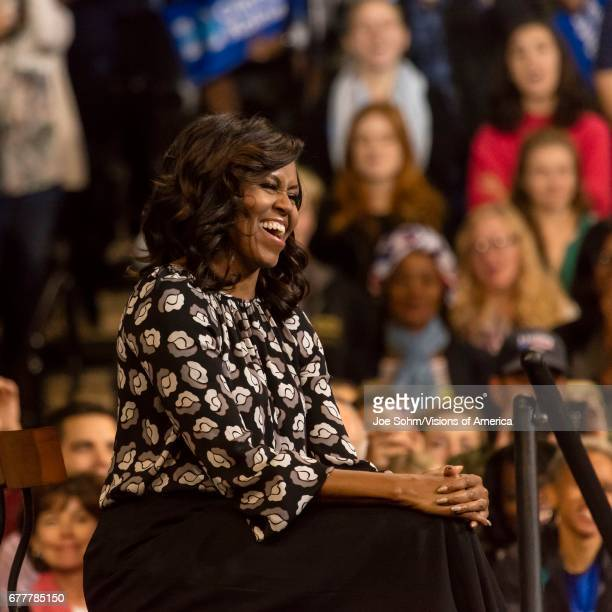 WinstonSalem NC October 27 F First Lady Michelle Obama Appear At A Presidential Campaign Event For Hillary Clinton's Presidential Campaign
