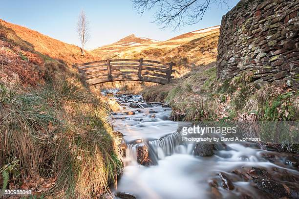 Winter at Oller Brook-Edale