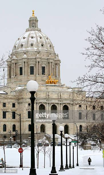 Winter at the Minnesota State Capital