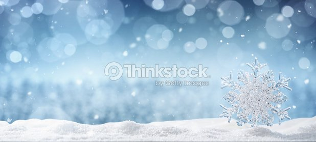 Winter background with copy space : Stock Photo
