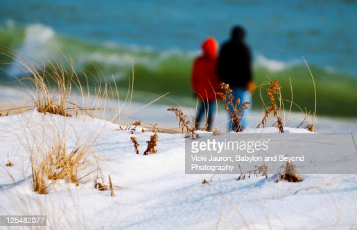 Winter beach babylon