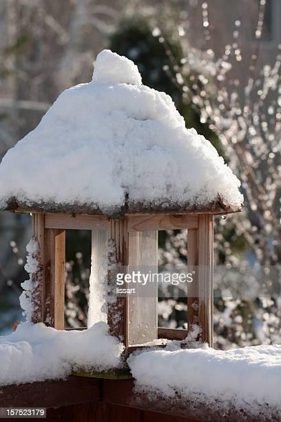 Winter-Vogelhäuschen