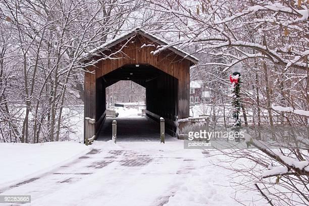 Winter Bridge at Holiday